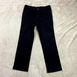 ✿❀ Lee Relaxed Fit Black Jeans Women Size 12 Short